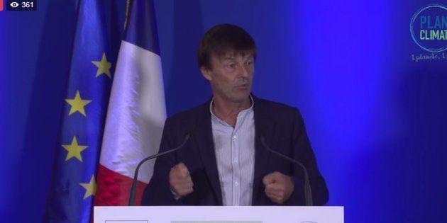 Nicolas Hulot annonce l'extension du bonus écologique aux véhicules