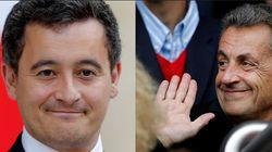 Le ministre Darmanin nie être conseillé par Sarkozy mais avoue qu'ils se téléphonent pour parler