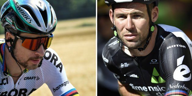 Tour de France: Le message fair-play de Peter Sagan à Mark Cavendish après son