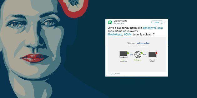 Le site anti-IVG qui instrumentalisait l'image de Simone Veil