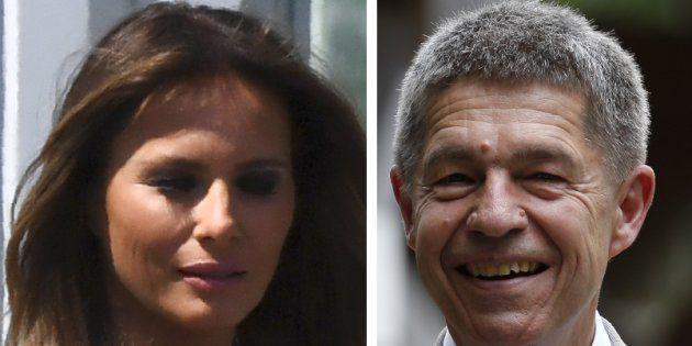Au G20, Joachim Sauer, le mari d'Angela Merkel, a eu une attention spéciale pour Melania