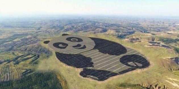 La centrale solaire s'observe mieux quand on prend un peu de