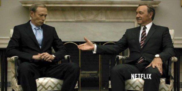 House of Cards s'est invité à la rencontre entre Trump et