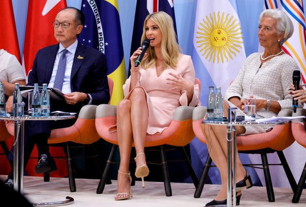Ivanka Trump participe à une conférence sur la place des femmes dans l'économie