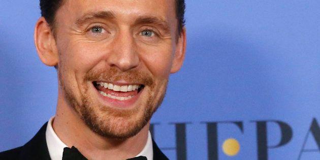 Tom Hiddleston aux Golden Globes le 8 janvier