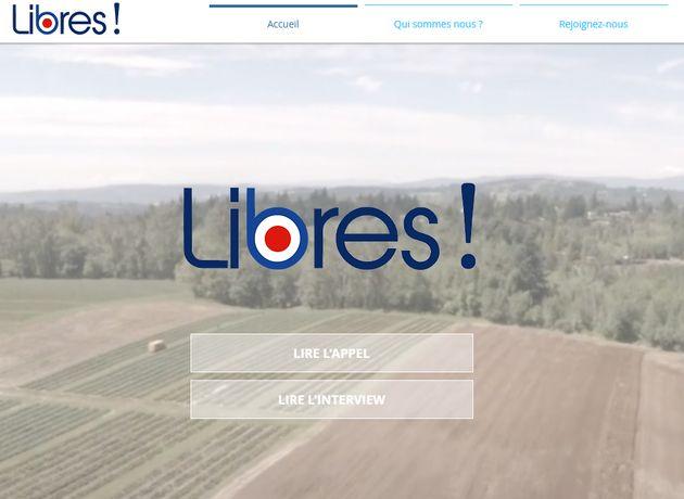 La bourde du logo de Libres!, le nouveau mouvement de Valérie