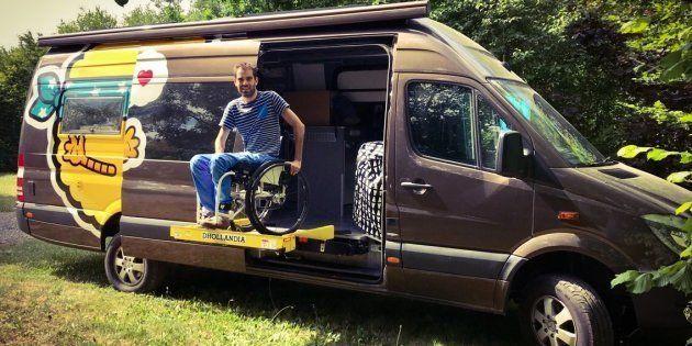 Ce français tétraplégique entame un road trip à travers 16 pays