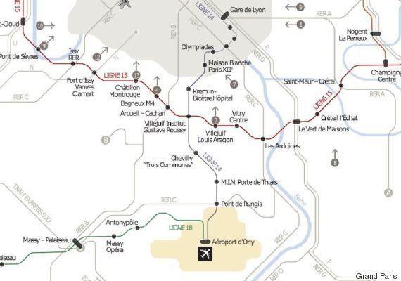 Maintenant c'est sûr, le chantier de prolongement de la ligne 14 Paris-Orly va commencer cette