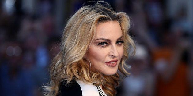 Madonna à la première mondiale du