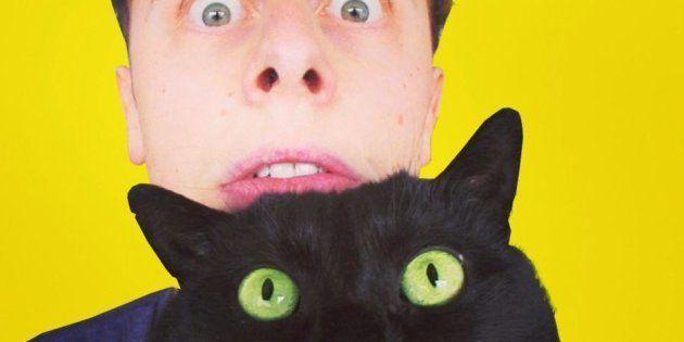 Norman et son chat