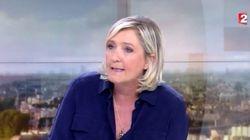 Marine Le Pen défend l'Etat de droit et accuse la droite