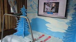 On a testé un simulateur de ski