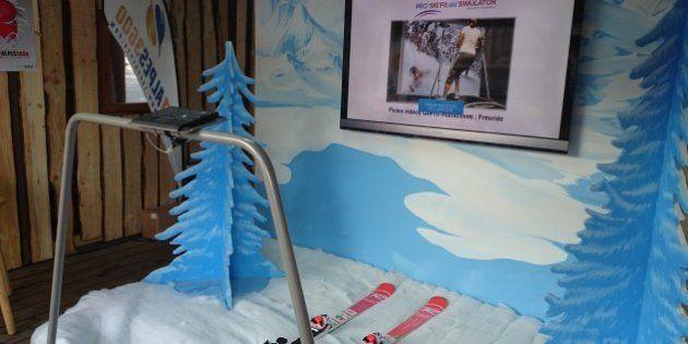 VIDÉO. On a testé un simulateur de ski qui pourrait se retrouver dans votre salle de fitness la saison