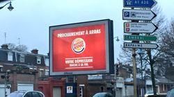 Burger King chambre Arras... et se fait chambrer à son
