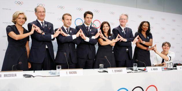La délégation parisienne à Lausanne le 11 juillet