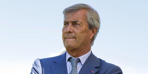 Vincent Bolloré à Paris le 25 juin