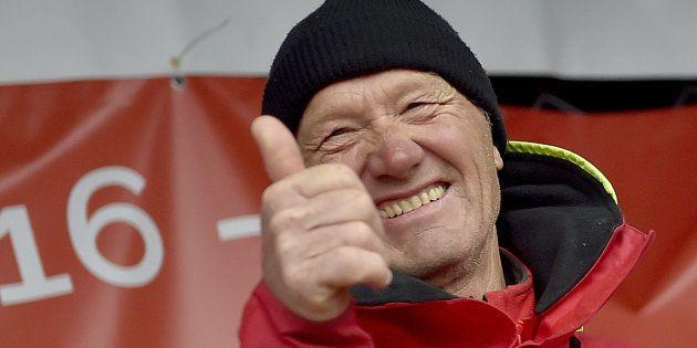 Francis Joyon célèbre son record au trophée Jules Vernes le 26 janvier à
