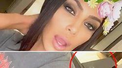 Kim Kardashian assure que les traces blanches sur sa table ne sont pas de la