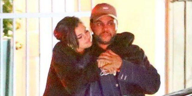 Selena Gomez et The Weeknd à Los