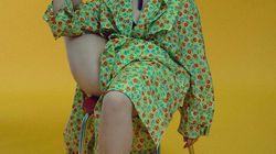 Lena Dunham rayonnante (et extrêmement souple) dans son dernier