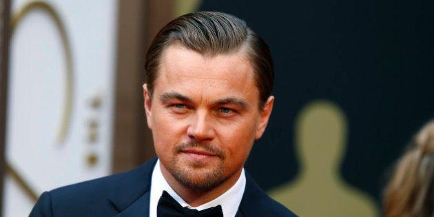 Leonardo DiCaprio, best actor nominee for his role