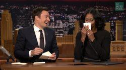 Michelle Obama a écrit un mot doux adorable à son mari