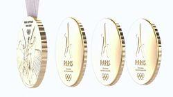 Les médailles à partager imaginées par Starck pour Paris-2024 collent parfaitement au