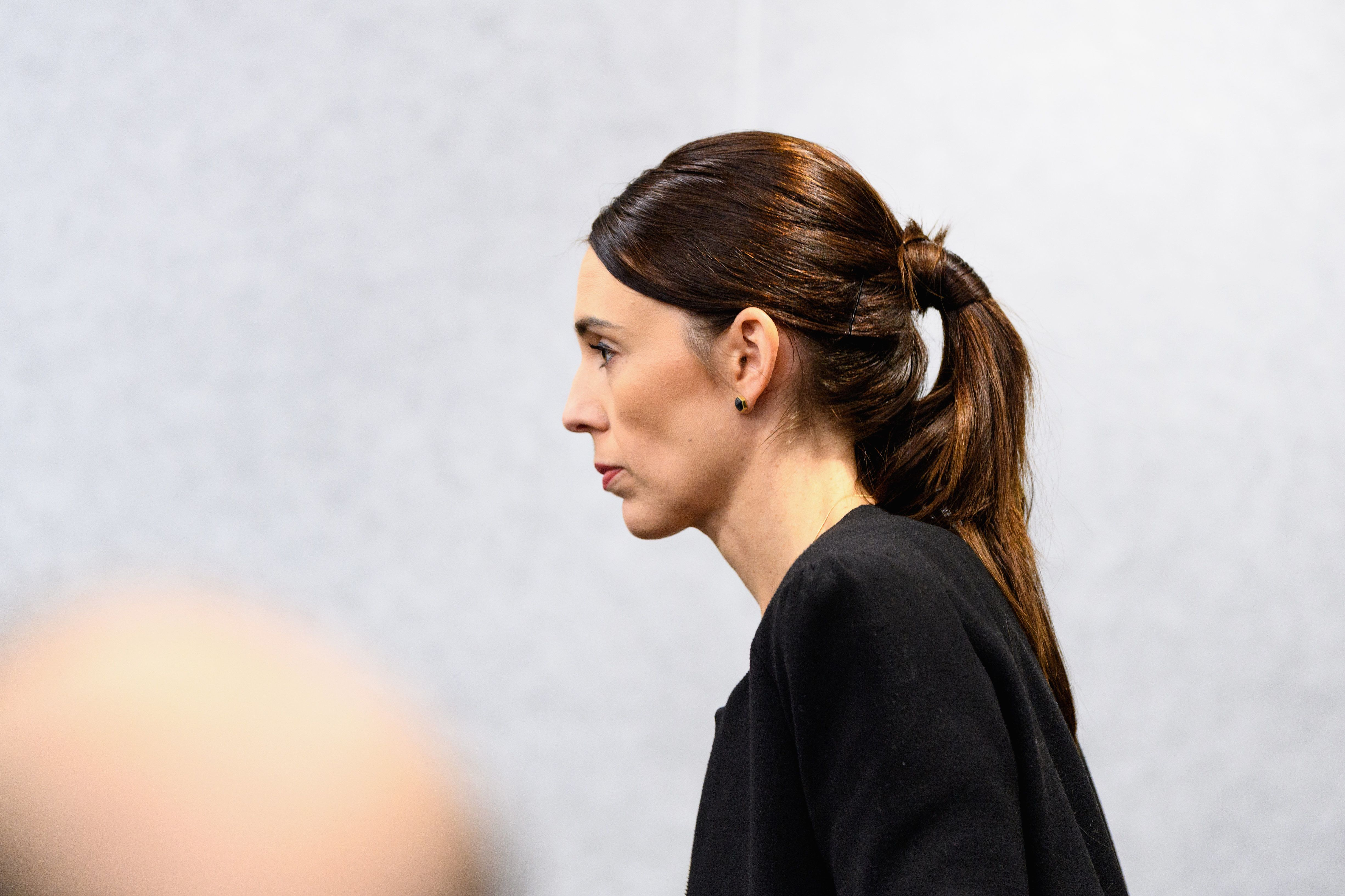 CHRISTCHURCH, NEW ZEALAND - MARCH 20: New Zealand Prime Minister Jacinda Ardern arrives for a press conference at the Justice and Emergency Services precinct on March 20, 2019 in Christchurch, New Zealand. 50 people were killed, and dozens are still injured in hospital after a gunman opened fire on two Christchurch mosques on Friday, 15 March. The accused attacker, 28-year-old Australian, Brenton Tarrant, has been charged with murder and remanded in custody until April 5. The attack is the worst mass shooting in New Zealand's history. (Photo by Kai Schwoerer/Getty Images)