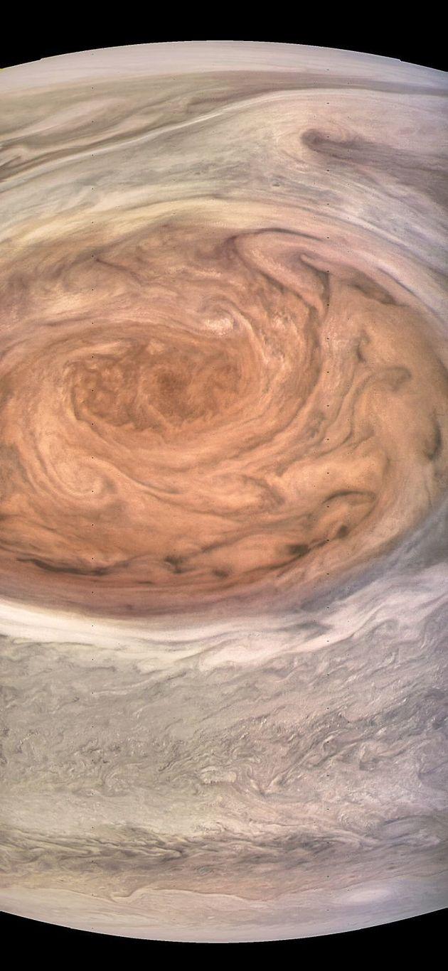 On n'avait jamais vu la Grande Tache rouge de Jupiter d'aussi