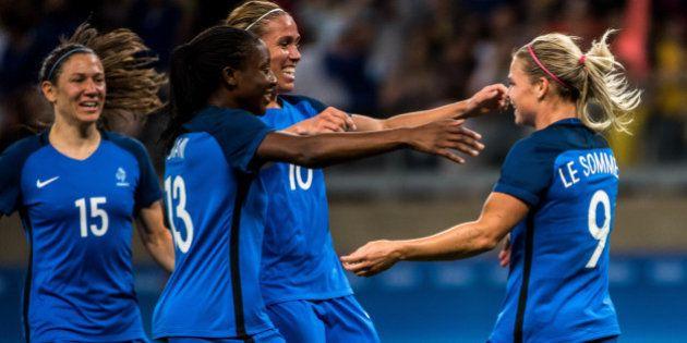Jeux olympiques 2016: l'équipe de France écrase la Colombie (4-0) au premier jour du tournoi de foot