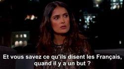 Salma Hayek se moque de Hollande et