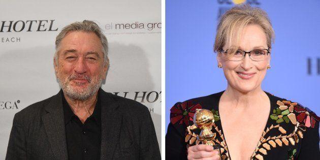 La lettre de Robert De Niro à Meryl Streep après son discours anti Donald Trump aux Golden