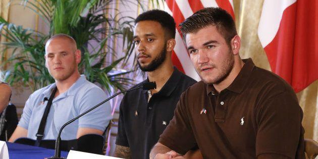 Les trois héros avaient tenu une conférence de presse, deux jours après la tentative