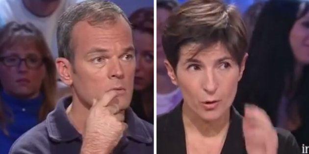 L'arrivée de Christine Angot dans ONPC fait réagir Laurent Baffie, avec qui elle a un lourd