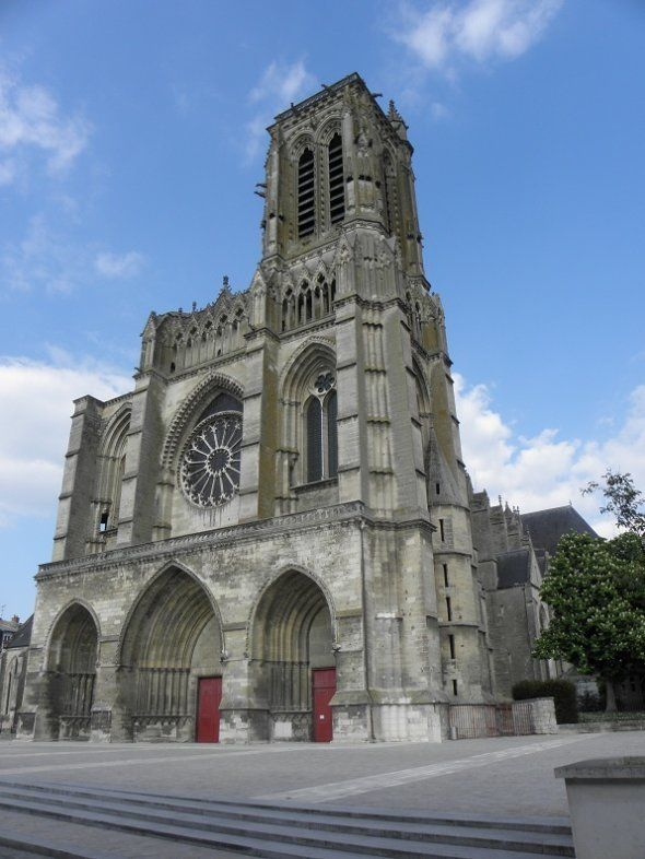 La rosace de la cathédrale Saint-Gervais-et-Saint-Protais de Soissons