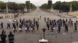 Avant le 14-Juillet, ces militaires répètent sur du Daft Punk. Chorégraphie en