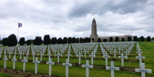 L'ossuaire de Douaumont transformé en arène par