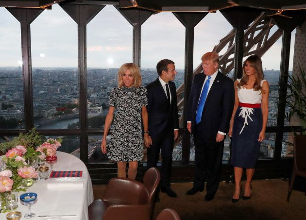 Revivez la rencontre entre Donald Trump et Emmanuel