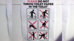 Les règles délirantes des toilettes des JO ont encore frappé à