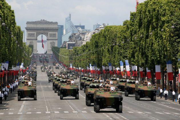 14-Juillet: Revivez le défilé militaire sur les Champs-Élysées avec Macron et