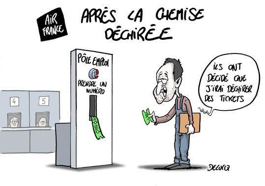 Air France: la ministre du travail en faveur du