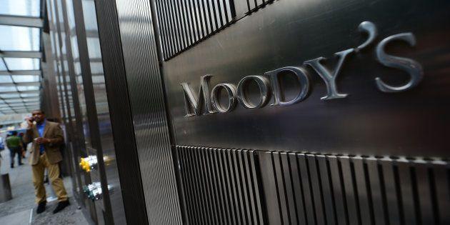 Le siège de l'agence de notation Moody's à New York, en septembre