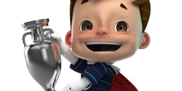 La mascotte de l'Euro 2016 s'appelle Super