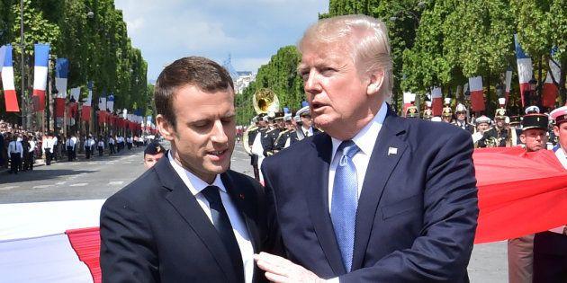 14-Juillet: Pourquoi Macron a autant mis en scène son amitié avec