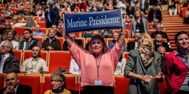 Front national: en 2017, les militants voient déjà Marine Le Pen