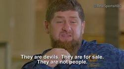 Pour le président tchétchène: