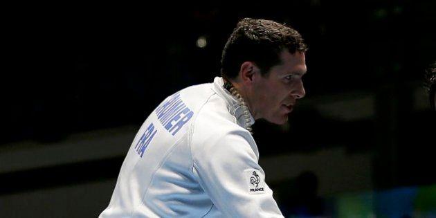 2016 Rio Olympics - Fencing - Quarterfinal - Men's Epee Individual Quarterfinals - Carioca Arena 3 -...