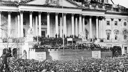 156 ans avant Trump, Lincoln prêtait serment devant un Capitole en