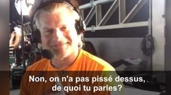 La blague odorante de Philippe Lucas à un journaliste de France