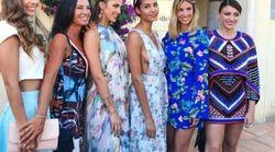 Les miss France en nombre au mariage de Sylvie